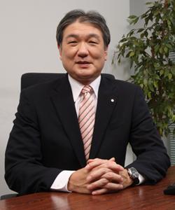株式会社大阪砕石工業所 取締役社長 石田光人